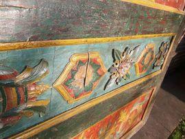Sonstige Antiquitäten - Holzrelief - antik