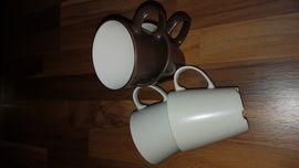 Kaffee-, Espressomaschinen - Kaffeemaschine inklusive Tassen