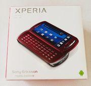 Sony Ericsson Xperia rot Handy