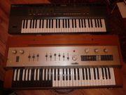 2 alte keyboard synthesizer orgel