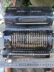 Alte Rechenmaschine Trinks-Triplex Brunsviga