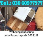 Wohnungsentrümpelung Berlin kurzfristig Super günstig