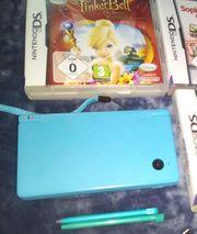 Nintendo DSi hellblau Konsole Zubehör