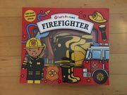 Puzzle Buch Feuerwehr Firefighter Set