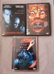 3x DVD je 1 Euro