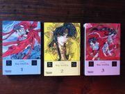 Verschiedene Manga - Japanische Comics - preiswert