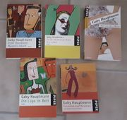 Fünf Taschenbücher von Gaby Hauptmann
