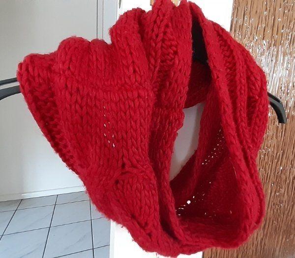 Schlauchschal Schal rot