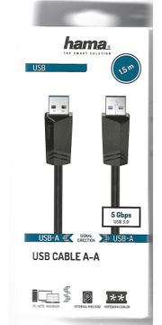 USB-Cable A-A 1 5 m
