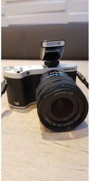 Samsung NX300 Systemkamera OLED Touchscreen