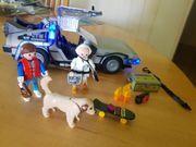 Playmobil Back to Future DeLoreon