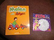 Malbücher FILLY und SIGGI BLITZ