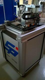 3 Achs Labor-Roboter auf Lochplatte