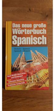 Spanisch Wörterbuch für Schule Studium