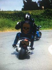 Motorradfahren Wir zwei u a