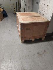 Holz kisten mit deckel