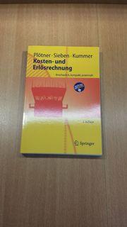 Kosten- und Erlösrechnung - Buch - Neuwertig