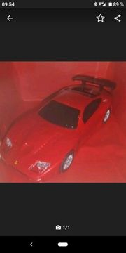 gratis Versand- Ferrari Spielzeugauto mit