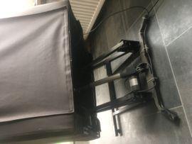 Bild 4 - Brauner Leder-Sessel motorisiert mit Aufstehhilfe - - Dachau