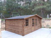 Gartenhaus 5x4m 28mm 20m2 Imprägnierung