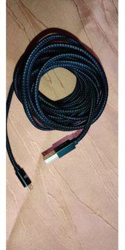 Micro USB Kabel 5 m