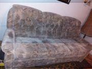 Sofa und 2 Sessel stoff