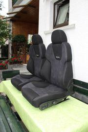 2 Recaro Sitze Style mit