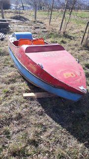 Tretboot aus Blech Boot