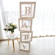 Baby Party Dekoration mit den