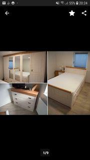 Schlafzimmer komplett neu