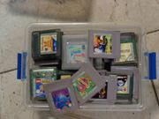 Nintendo Gameboy Gamweboy Color Spiele