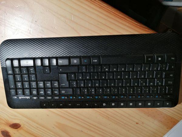 Drahtlose Mircosoft-Tastatur Maus