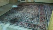 Orientteppich handgeknüpft Keshan 383 x