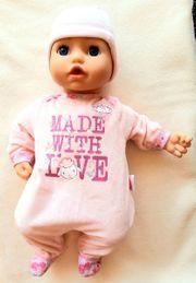 Neuwertige Puppe Zapf mit lebensechten