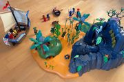 Playmobil Schatzinsel 5134 Piratenschiff 5135