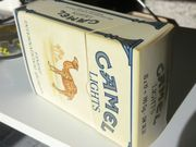 Große Weihnachts-CAMEL-Box 18 cm Papp-Faltschachtel