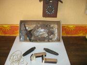 Alte Kuckucks-Uhr zum Zusammenbauen soll