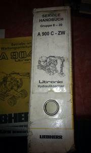 Liebherr Service Handbücher A900C ZW