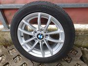 4x BMW Alufelgen mit Sommerreifen