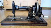 antike Nähmaschine ca 100 Jahre