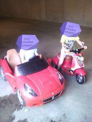Ferrari und Vespa für Kinder