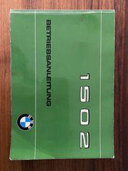 Betriebsanleitung eines BMW 1502