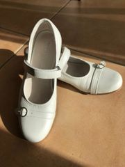 weiße Schuhe Kommunion SABALIN Gr