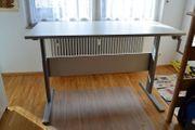 Arbeitstisch mit Kurbel höhenverstellbar von