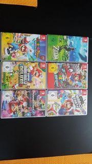 Nintendo Switch Konsole 6 Spiele
