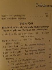 christliches Buch Marienbuch Gebetbuch 1909
