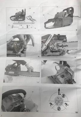 Benzin Kettensäge 440 Matrix SPS: Kleinanzeigen aus Angelhof I u. II - Rubrik Gartengeräte, Rasenmäher