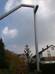 2 x Handlauf Geländer Metall