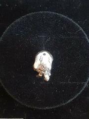 Echt Silber Charm Schildkröte aus