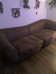 4sitzer Couch Farbe Capuccinobrau